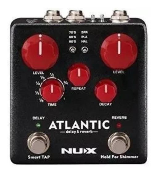 Pedal Nux Atlantic Delay, Reverb E Shimmer Ndr5 - Original