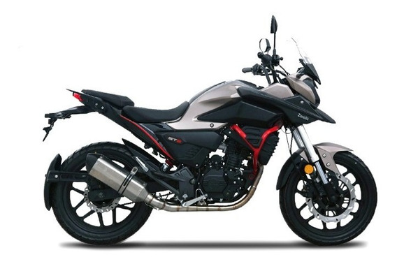 Moto 0km Gt2 1 Zanella Endura Calle Cuotas Urquiza Motos