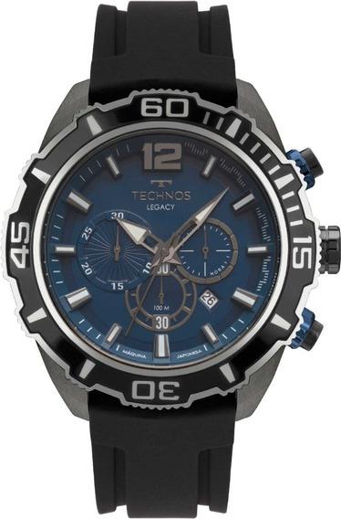 Relógio Technos Masculino Cronógrafo Legacy Js26ar/8a
