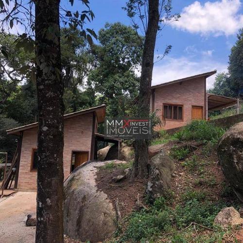 Chácara Com 2 Dormitórios À Venda, 12500 M² Por R$ 1.500.000,00 - Apolinário - Mairiporã/sp - Ch0010