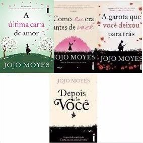 Kit Jojo Moyes - Como Eu Era Antes De Você + 3 Livros