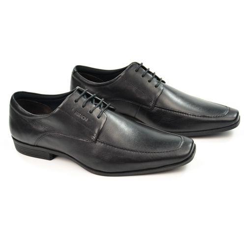 E Sapato Masc 4302-281g Cadarco Preto Couro Ferracini 20647
