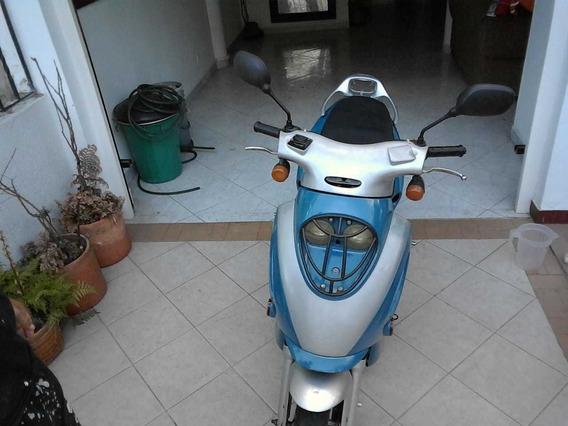 Jialing Scooters Azul