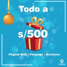 Diseño De Pagina Web + Facebook + Brochure ( Oferta)
