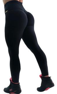 Calça Legging Empina Bumbum Cintura Alta Leg Modeladora Fit