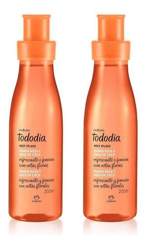 Spray Mango Rosa Y Agua De Coco X2 Tododía Natura Original