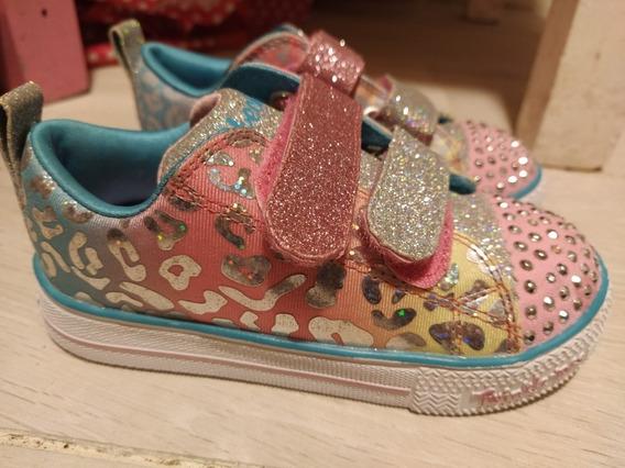 Zapatillas Skechers Niña Twinkle Toes Talle 25