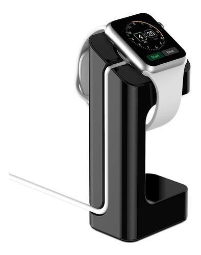 Soporte De Carga Para Apple Watch Color Blanco Y Negro