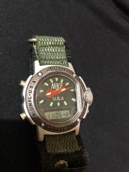 Relógio Nike Anadigi Anos 90 Vintage