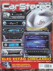 Revista Car Stereo Brasil - Agosto De 2002 - N° 36