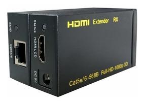 Cabo Adaptador Conversor Hdmi Para Rj45 Com Cat5 E Cat6