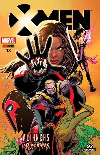 Hq X-men Nº 13 Edição Janeiro/2018 - Alianças Profanas