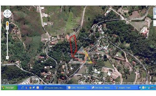 Terreno À Venda, 1597 M² Por R$ 165.000,00 - Copaco - Arujá/sp - Te0013