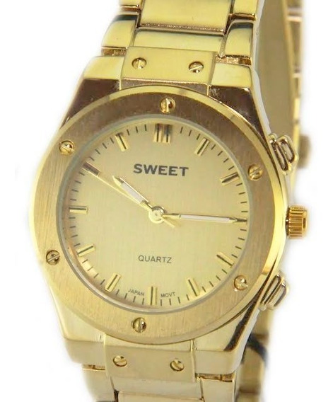 Reloj Sweet 1855g New Quartz Acero Gtia 12m Tienda Oficial