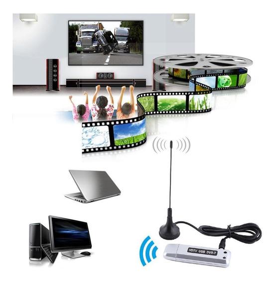Usb 2.0 Dvb-t Digital Tv Receptor Hdtv Sintonizador Dongle V