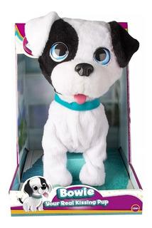 Mascota Perro Bowie Interactivo Besitos De Verdad Club Petz