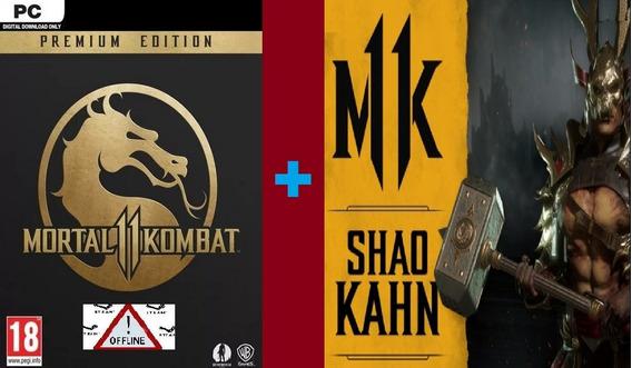 Mortal Kombat 11 Pc Premium Steam + Dlc Shao Cód No E-mail