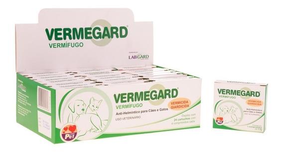 Vermegard Cães E Gatos 4 Comprimidos
