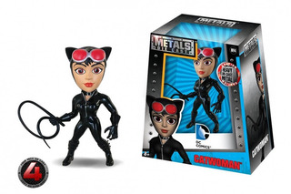 Figura De Acción Catwoman Dc 10 Cm Metal Die Cast