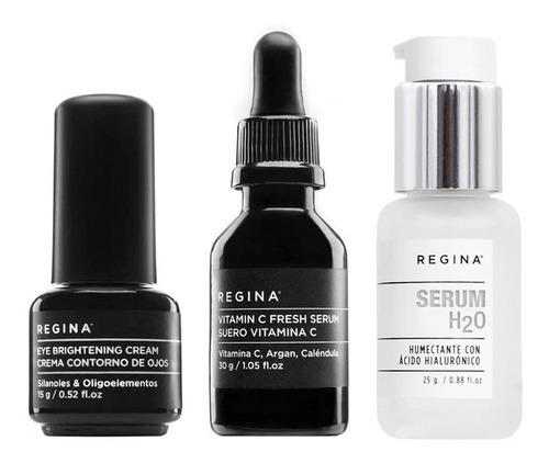 Set Antiedad Regina Serum Vitamina C & Hialuronico