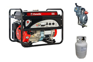 Grupo Electrogeno Generador 4500 W A/m Nafta Gas Zanella