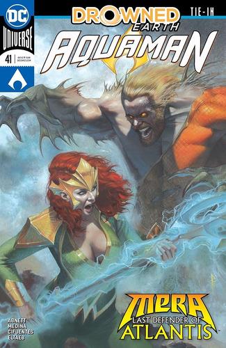 Aquaman #41 (2018) Drowned Earth Tie-in Dc Comics