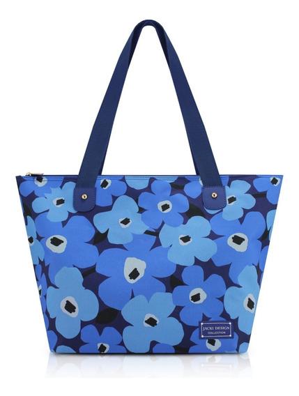 Bolsa Estampada Jacki Design Papoula