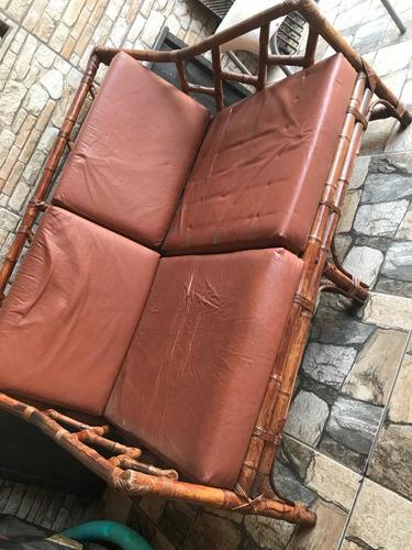 Imagem 1 de 5 de Cadeiras Artesanal De Bambu