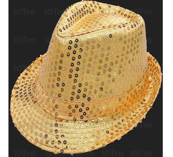 Sombrero Tango Con Lentejuelas Gorro Excelente Calidad