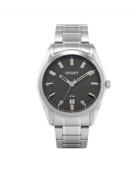 Relógio Orient Original De Fábrica Prateado Mmbss1213 G1sx