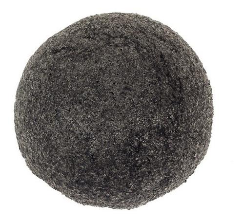 Imagen 1 de 6 de Esponja Para Limpieza Profunda Facial Konjac Black Fascino