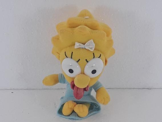 Pelúcia Os Simpsons Bebê Maggie Original Anos 90