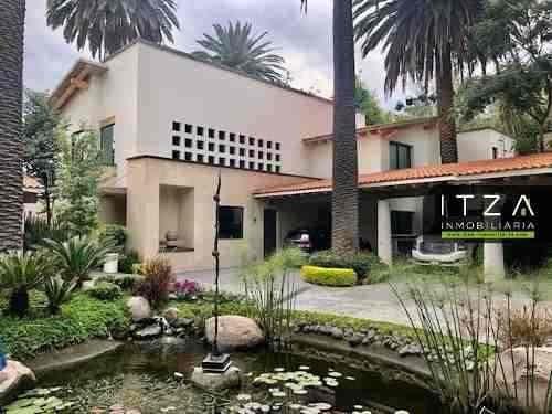Residencia En La Rosaleda, En Tlacopac, San Ángel