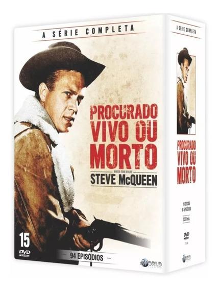 Box Procurado Vivo Ou Morto - A Série Completa - 15 Dvd