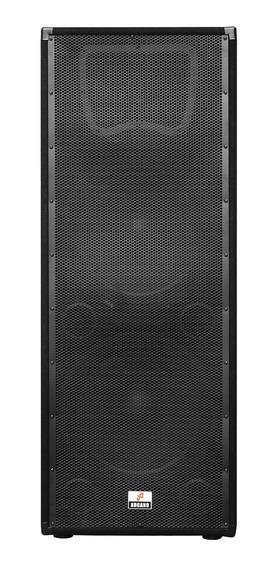 Caixa De Som Ativa Amplificador Duplo Arcano Wduo-15 480w