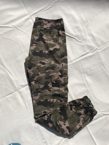 Pantalon S Camuflado Mujer