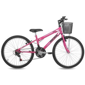 Bicicleta Fantasy Mormaii Aro 24 Rosa