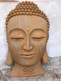Cabeza De Buda Resina Óxido
