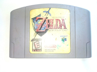 The Legend Of Zelda Ocarina Of Time N64 Original