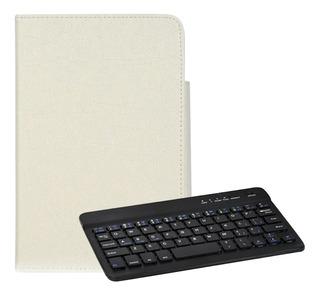 Teclado Bluetooth Universal 3 Em 1 Para Tablet Pc 7-8 Polega