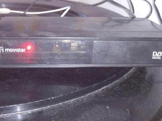 Decodificador Movistar Con Su Antena