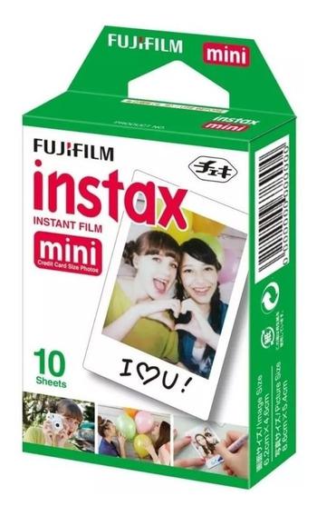 Filme Instax Mini Fujifilm Instantâneo Caixa Com 10 Fotos