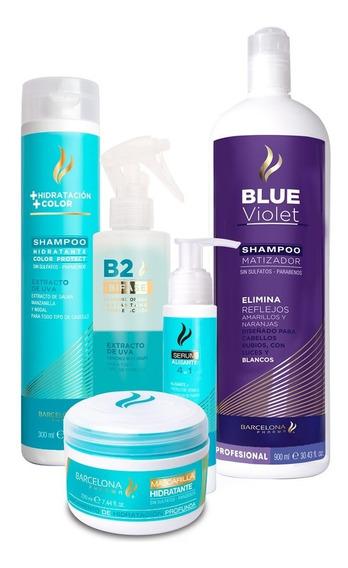 5th Pack Hidratante + Matizador Blue Violet 900ml