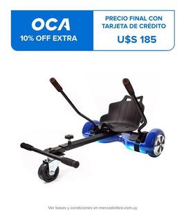 Patineta Electrica Hoverboard Motor Skate + Silla Asiento