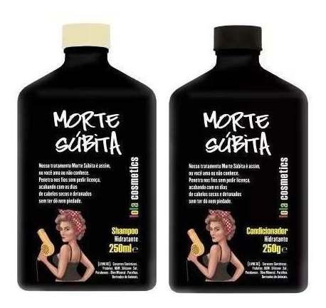 Imagem 1 de 1 de Morte Subita Shampoo + Condicionador Lola Cosmetics