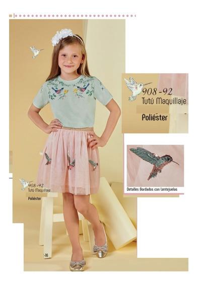 Falda Niña Cklass Tutu Kids 908-92 Primavera Verano 2018