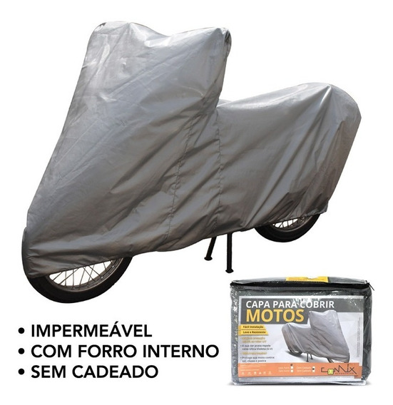 Capa Impermeável Moto S/ Cadeado Yamaha Crosser Xtz150 Cmsc2