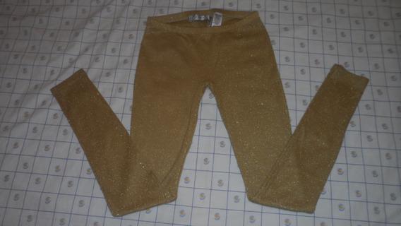 Leggings Dorado Dama Guess Talla S