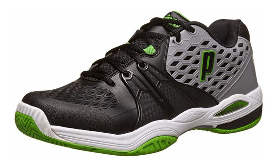 Zapatillas Prince Warrior Cc Grey/black/green