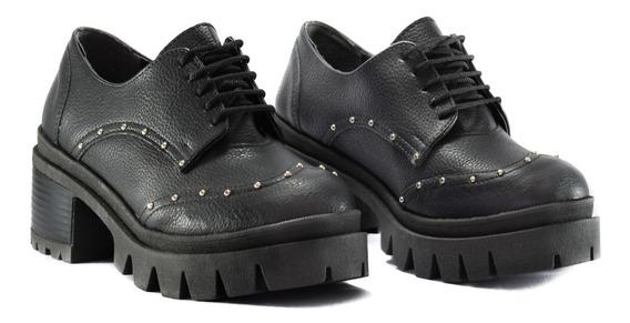 Botas Mujer Zapatos Plataforma Acordonado Nueva Temporada